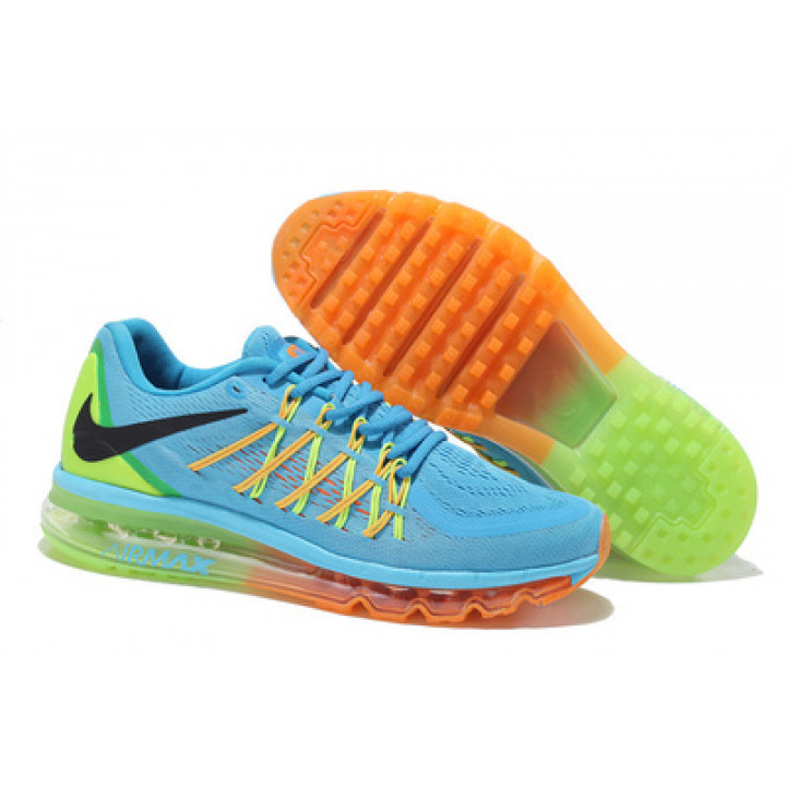 Кроссовки Nike Air Max 2015 голубые в Украине